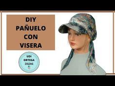COMO HACER PAÑUELO CON VISERA.🌼 - YouTube Heat Band, Turban Hat, Fashion Sewing, Sewing Tutorials, Mascara, Knitted Hats, Crochet Patterns, Couture, Bandana