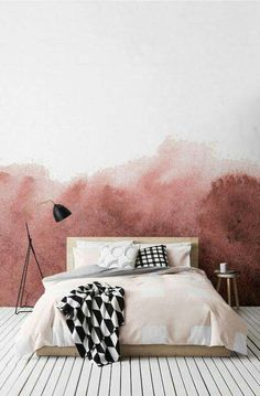 Ombre wall ? More (Diy Apartment Art)