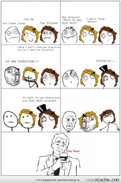 YESH!!! everytime someone make a dumb gay joke about 1D this is what will happen!