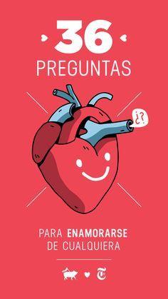 Las 36 preguntas que llevan al amor – Español