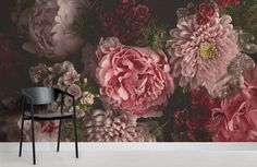 Home Wallpaper, Floral Wreath, Wreaths, Interior, Flowers, Plants, Painting, Inspiration, Home Decor
