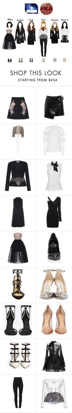 """""""PKA Red Carpet"""" by starz-official ❤ liked on Polyvore featuring Zuhair Murad, Isabel Marant, Rodarte, Philosophy di Lorenzo Serafini, Elie Saab, Versus, Valentino, Marchesa, Jimmy Choo and Yves Saint Laurent"""