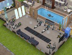 Casas The Sims Freeplay, Sims Freeplay Houses, Sims Free Play, Sims 2, Decor, Sims House, Plants, Blue Prints, Home Ideas