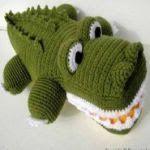 patron gratis cocodrilo amigurumi   free amigurumi pattern crocodile