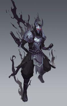 The References Gray Things gray color images Ninja Kunst, Arte Ninja, Ninja Art, Fantasy Character Design, Character Design Inspiration, Character Concept, Character Art, Fantasy Armor, Dark Fantasy Art