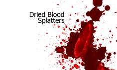33 Blood Splatter Brushes for Photoshop Users