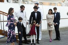 Prince Joachim and his family celebrated his eldest son Prince Nikolai's birthday at the Dannebrog Ship with his former wife Alexandra Manley, the mother of Prince Nikolai and Felix Prince Felix Of Denmark, Princess Marie Of Denmark, Princess Alexandra, Crown Princess Mary, Denmark Royal Family, Danish Royal Family, Alexandra Manley, Wife Birthday, Birthday Quotes