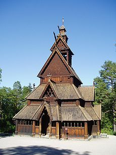 Stavechurch from Gol