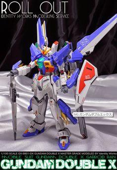 MG 1/100 Gundam Double X - Customized Build
