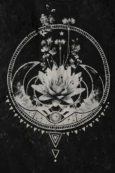 Most popular tags for this image include: flowers, black and white, art, moon and black