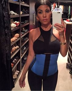 37012c7b802a1 12 Best Celebrities Love Waist Training images