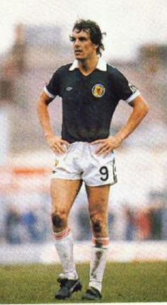 Joe Jordan of Scotland in 1981.