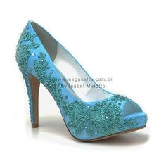 turquoise bridal shoes - Google Search