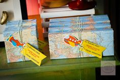 Sebastian's Airplane Themed Party – Favors