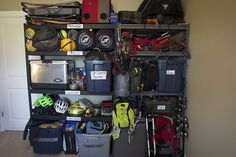 Gear storage, we all know how hard that can be, REI has ten tips for maximising storage potential.