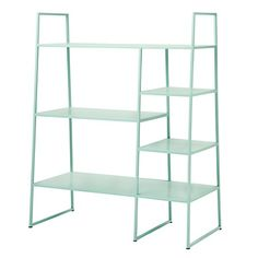 Metal Bookcase in Mint