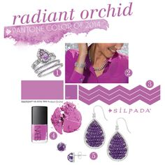 How to make radiant orchid your own! | Silpada Blog #orchid #RadiantOrchid #WomensFashion