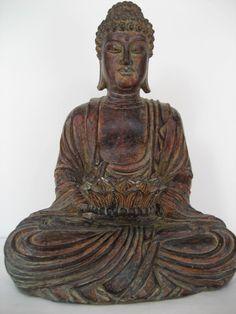 Tealight Holder Buddah Statue Religion Candles Altar Church Zen Peace | eBay