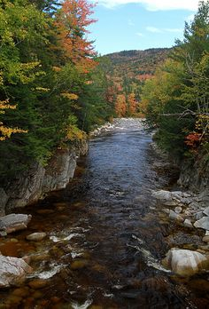 Kancamagus Highway, New Hampshire; photo by .Bob Anderson