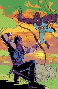 Vivisector vs Hawkeye by Mike Allred Comic Book Covers, Comic Books, Mike Allred, Comic Art Community, Price Sticker, Good Buddy, Hawkeye, Cover Art, Marvel Comics