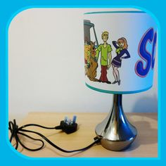 Scooby doo Bedside lamp / lampshade & base by GiftsandPressies