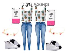"""""""TWINS4LIFE"""" by that-girl-kenzie ❤ liked on Polyvore featuring City Chic and Kate Spade"""