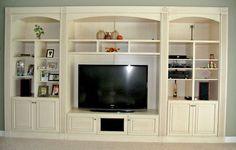 built in corner entertainment center | built-in-entertainment-wall-unit