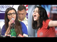 Rakhi Sawant's reaction towards Priety Zinta's Molestation.