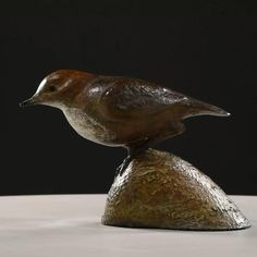 Bronze, signed, dated & numbered limited edition sculpture Bird Sculpture, Bronze Sculpture, Sculptures, Beneath The Surface, Dipper, Pretty Little, Monsters, Wildlife, Cottage