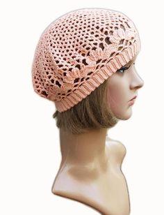 Peach spring beret by WWWIKA CROCHET | Craftsy  free pattern