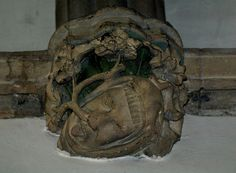 https://flic.kr/p/K8G7n | Green Man Trail Oxfordshire | Merton College Chapel, Oxford; late 13th-century Green Man Photo: Oxford Times www.greenmantrail.com