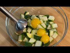 zmiksuj jajka z cukinią, pyszny przepis gotowy w kilka minut! Asmr # 159 - YouTube Zucchini, Sweet Recipes, Healthy Recipes, Eggplant Dishes, Lunch Buffet, Recipe Ready, Veg Dishes, Tasty, Yummy Food