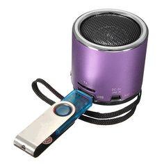 Portable Mini Speaker Amplifier FM Radio USB Micro SD TF Card MP3 Portable Mini Speaker, Speaker Amplifier, Computer Network, Laptop Accessories, Sd, Iphone, Cards, Map