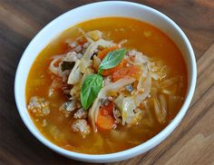 Homemade soup is a wonderful way to enjoy healthy, quick meals at home. this recipe for sausage and cabbage comfort soup is packed with wholesome fiber from Healthy Eating Habits, Healthy Lifestyle Tips, Small Meals, Homemade Soup, Sausage Recipes, Nutrition Tips, Nutritious Meals, Easy Healthy Recipes, Quick Meals