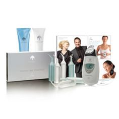 ageLOC Spa Package White  Contains:  1 ageLOC Edition Galvanic Spa System White  1 pack ageLOC Galvanic Spa Facial Gels  1 Tru Face Line Corrector  1 Galvanic Spa Body Shaping Gel  1 ageLOC Science of Youth Brochure  1 ageLOC DVD