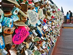 """Paris's Pont des Arts will be removing its famous """"love locks."""" Here are other places where you can still honor your love in lock form."""