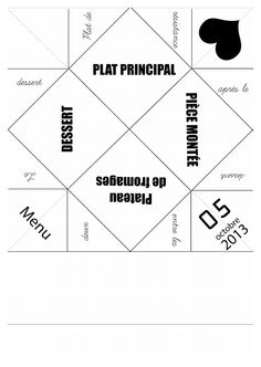 plan cocotte en papier