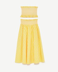 Image 11 of GINGHAM CHECK SKIRT AND TOP from Zara
