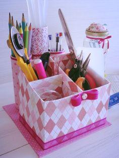 DIY Kids Crafts with Recycled Milk Cartons - Art & Craft Ideas Diy Crafts For Kids, Easy Crafts, Arts And Crafts, Craft Ideas, Container Organization, Diy Organization, Cardboard Crafts, Paper Crafts, Milk Carton Crafts