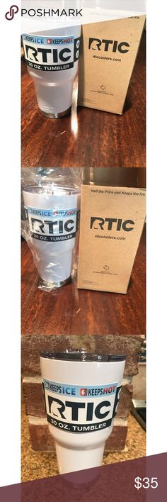 RTIC 30 OZ. Tumbler Brand new comes with tag and box. The tumbler is in plastic wrap RTIC coolers Other