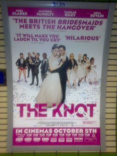 Spotting posters on the tube!! Yeah baby!