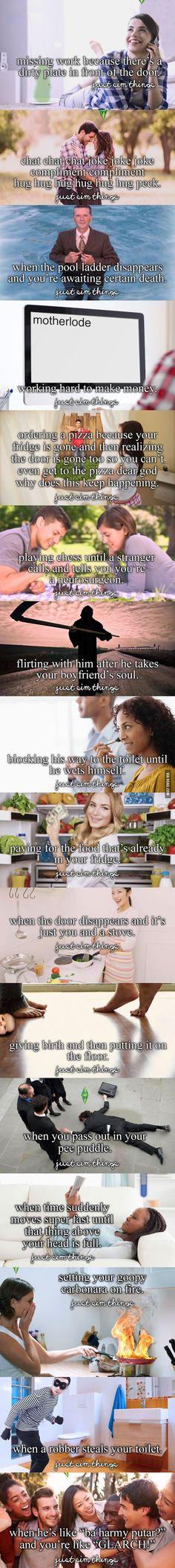 Just Sim Things