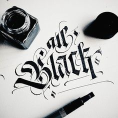 Awesome calligraphy by @igorsturion | #typegang - typegang.com | typegang.com #typegang #typography