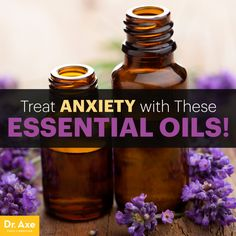Essential oils for anxiety - Dr. Axe http://www.draxe.com #health #holistic #natural