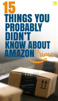 15 Little-Known Secrets About Amazon Prime Ways To Save Money, Money Tips, Money Saving Tips, Amazon Hacks, Financial Tips, Budgeting Tips, Saving Ideas, Money Matters, Money Management