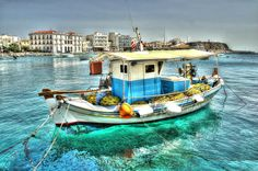 Tinos island - Boat by Mpampis Mantoukas on 500px