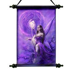 Art Scroll - Celtic Fairy - Anne Stokes