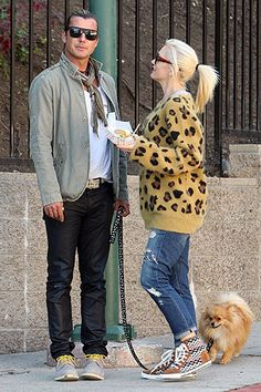 Baby Makes Three Gwen Stefani -- her baby bump! -- and her hubby Gavin Rossdale made it a family outing on Oct. 12, 2013, when the couple to...