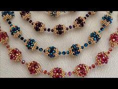 Beaded Necklace Patterns, Beaded Bracelets Tutorial, Handmade Bracelets, Handmade Jewelry, Jewelry Crafts, Macrame Tutorial, Earring Tutorial, Seed Bead Jewelry, Bead Jewellery