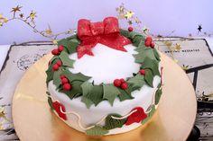 Tarta de Navidad Christmas cake
